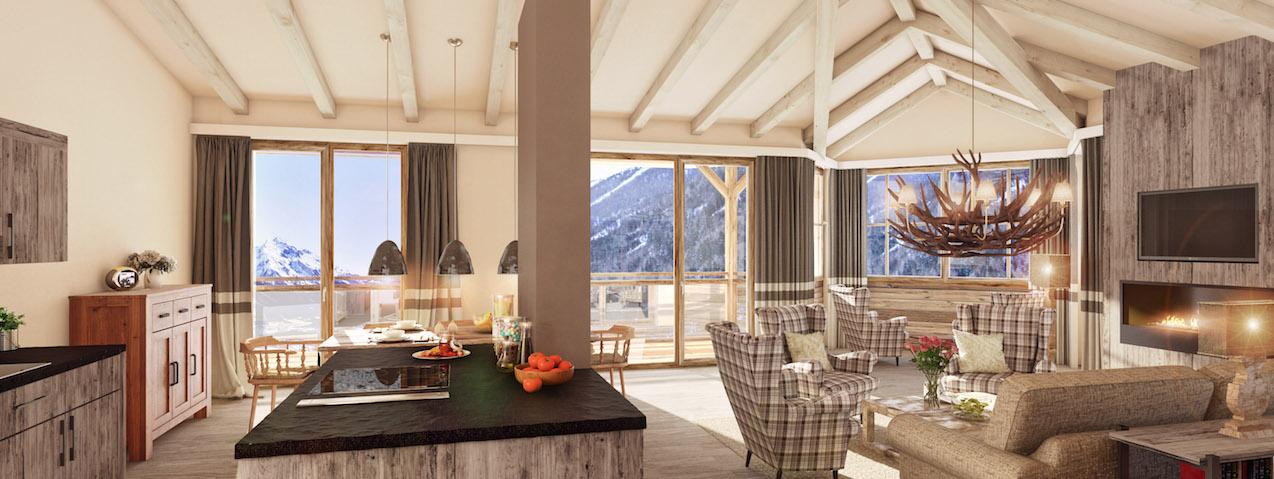 slider-Hotel Schweizerhof_Wohnraum_Suite G_STP01_Zimmertyp - Traditional_Sichtdachstuhl