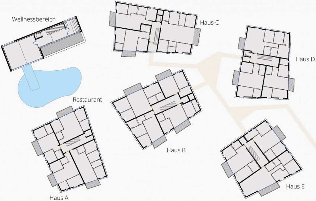 layout houses