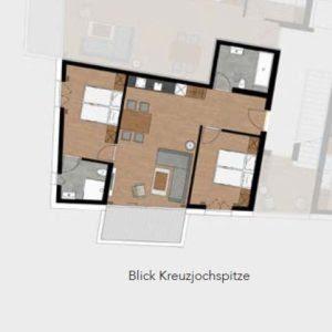 Oetz 2-slaapkamer appartement